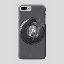 Pebbles No 3 - Phone Case by Antonio Caparo