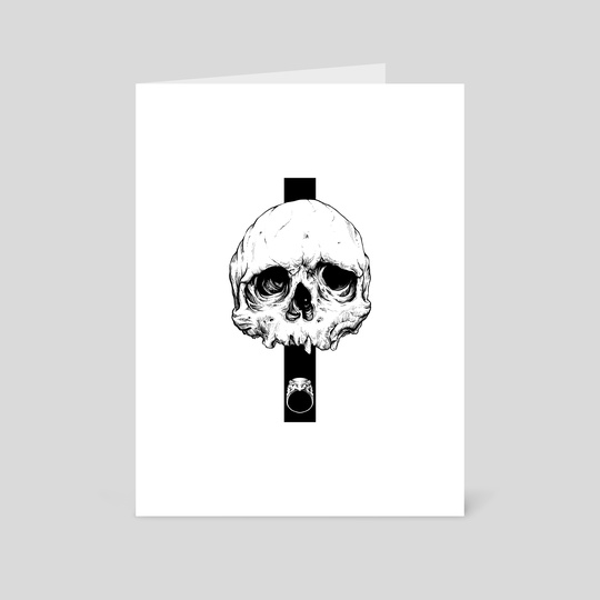 Skull & Ring   Edition I by Kacper  Gilka