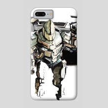 Combat Engineer - Phone Case by Brian Clarke