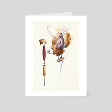 On Air - Art Card by Zoë De Gryse