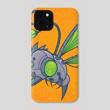HUMM-BUZZ - Phone Case by John Schwegel
