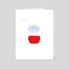 S - Art Card by Hanna Rybak