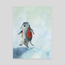 Wet Mouse - Canvas by janneke ipenburg