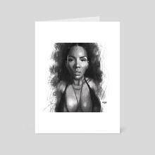 Deviant Beauty - Art Card by MARK CLARK II