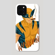 The Wolverine - Phone Case by Terra Simone