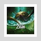 Zelda Watertemple - Art Print by Bjorn Hurri