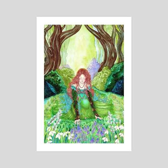 Ostara's awakening by Milbeth Morillo