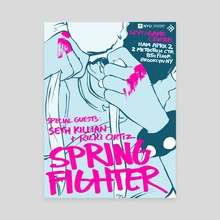 Spring Fighter 2016 - Canvas by rvsa