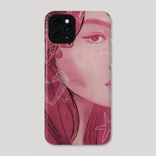 love -> building on fire v2 - Phone Case by jhulie