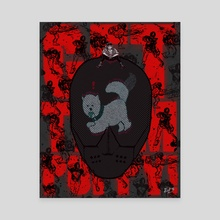 Get Them Puppy! (ruiner videogame) - Canvas by Edwin Urena