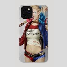 Harley Quinn - Phone Case by Jim Watkins