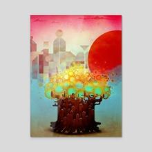 Aerials - Acrylic by Antony Squizzato