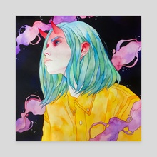 Oni Girl - Canvas by Seri Seli