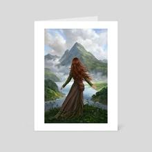 The Changeling's Journey - Art Card by Leesha Hannigan