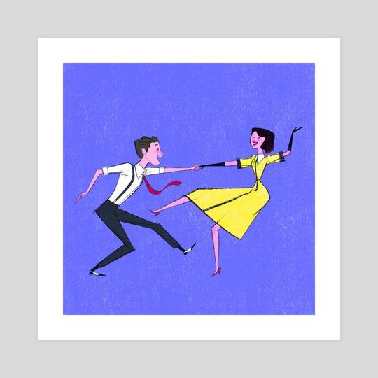 Swing Dancing by Brooklyn Walker