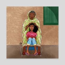 Haboba - Canvas by Maha Yassin
