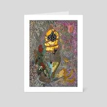 M001 Fatimas Hand - Art Card by Mohamed Hamida