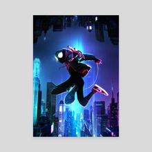 The Spider-Verse - Canvas by Mizuri