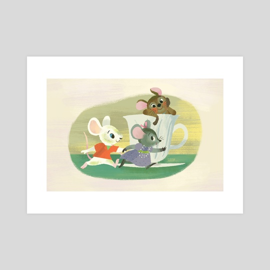 The Dashing Mice by Greg Abbott