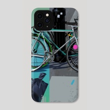 nycbike2 - Phone Case by Michal Lisowski