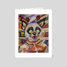 different. - Art Card by Emma Monterville