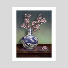 A TOUCH OF MING - Art Print by Tom Barrett
