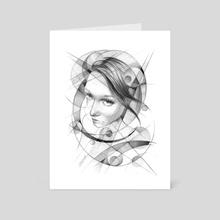 In geometry - Art Card by e Drawings38