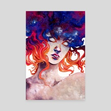 In Her Burning: Perpetual Light (color) - Canvas by Sin Ribbon