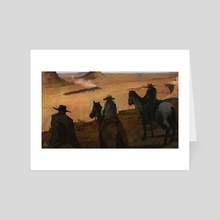 Dark Territory  - Art Card by Keven Mallqui