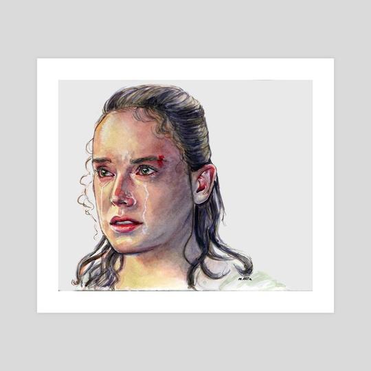 Rey The Last Jedi by Marta  Dasic