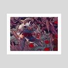 Bleeding - Art Print by Maria Nguyen