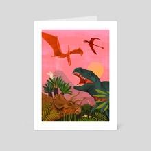 Cretaceous - Art Card by Jose Gimenez