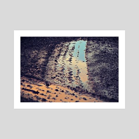 Sunset tracks by Robbie Edwards