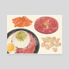 Beef Pepper Rice 2.0 - Canvas by Fajar Kurniawan
