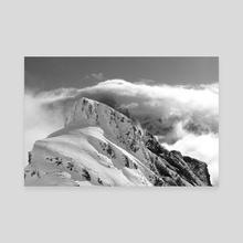 Swiss Alps - 2 - Canvas by Anthony Retournard
