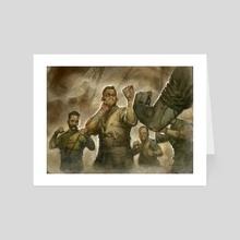 Instigator Gang - Art Card by Greg Staples