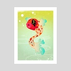 Fish - Art Print by jules