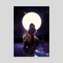 Hunter - Canvas by Nicebleed