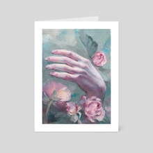 Fingers - Art Card by Sara Wilson