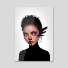 Apophis - Acrylic by Laura H. Rubin
