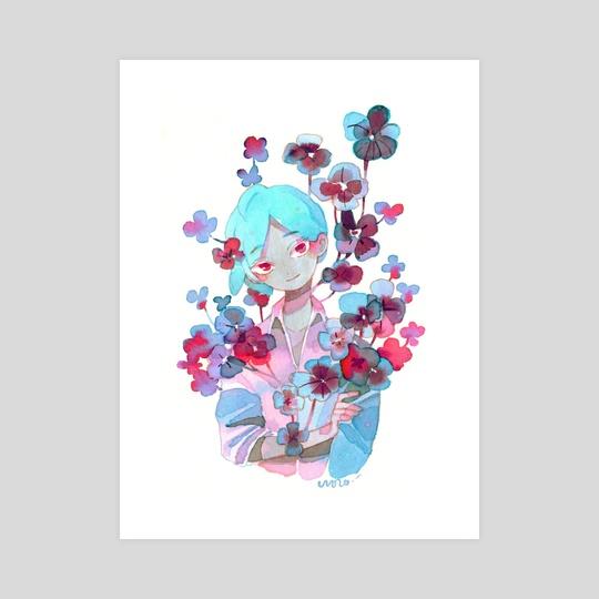 Blue by koyamori