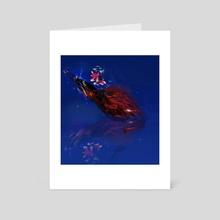 Sublimn - Art Card by Courtney James Howlett