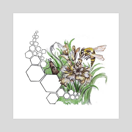 Save bees by Rachana DM