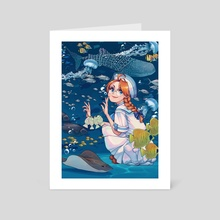 Fishes - Art Card by Magalie Yang