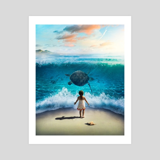 Called by the ocean by Gabriel Avram