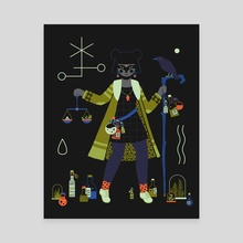 Witch Series: Potions - Canvas by Camille Chew