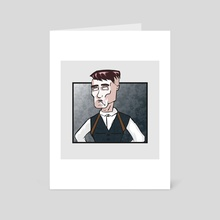 Thomas Shelby - Art Card by Rafael Sá