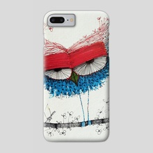 THe HaPpy, iN loVE, nOSTAlgic, sAD owLs (17) - Phone Case by Jorge Mendoza
