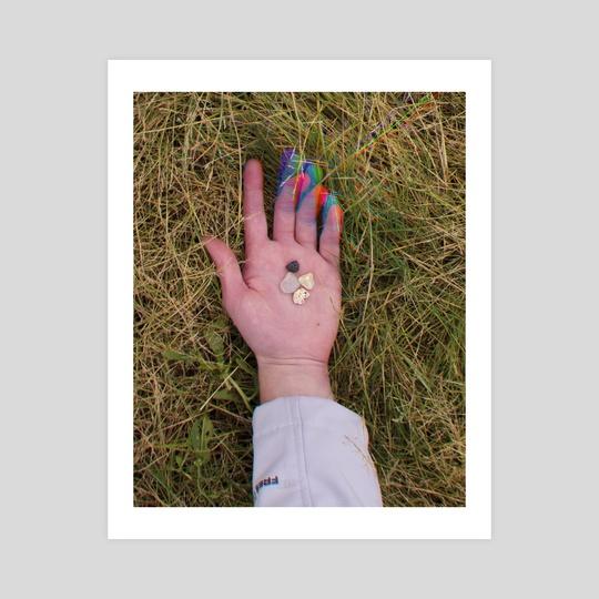 hand w/ rocks by lindsay tripp
