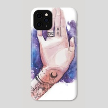 hand - Phone Case by Angelika